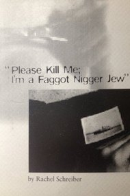 Please Kill Me, I'm a Faggot Nigger Jew