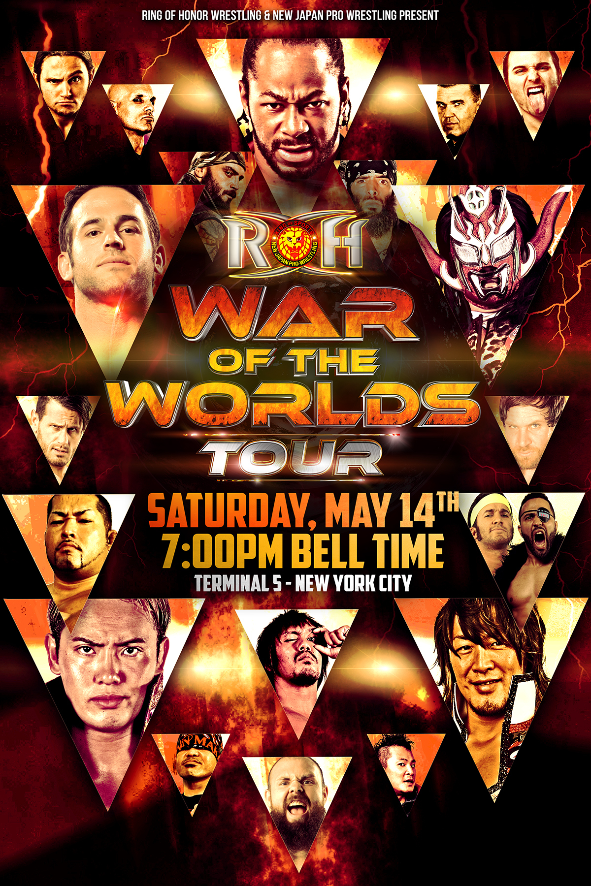 ROH: War of the Worlds 2016 - Night Three (NYC)