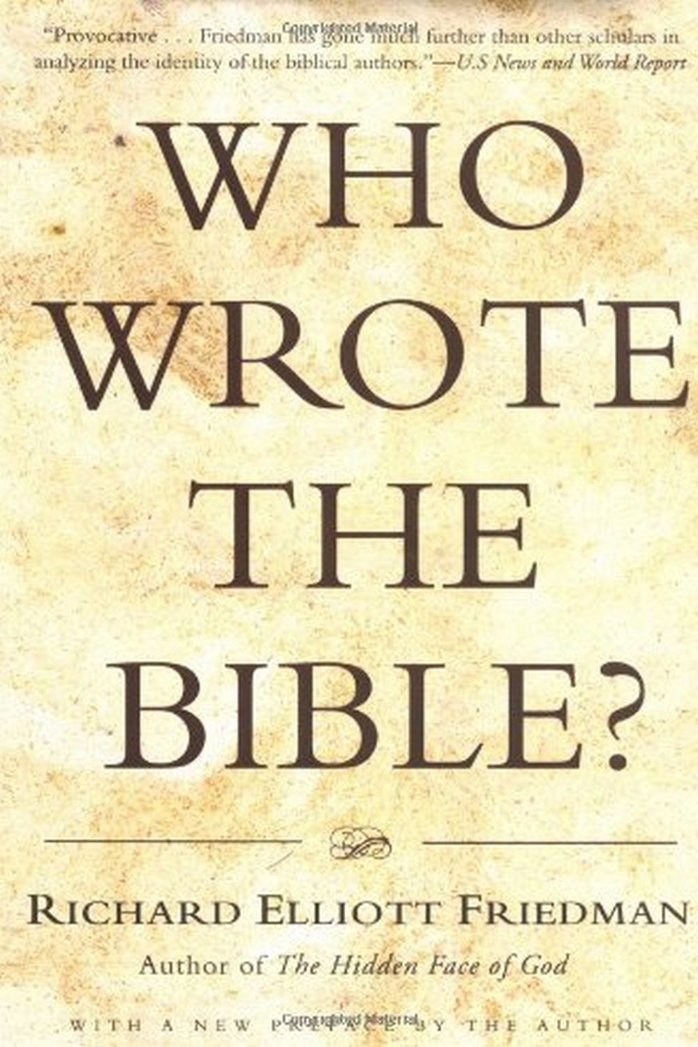the jewish writers of the bible In the modern era, we take for granted that the hebrew bible is a text—written words, displayed in chapters and verse yet biblical scholar william schniedewind, the kershaw chair of ancient.