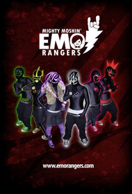 Mighty Moshin' Emo Rangers