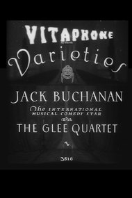 Jack Buchanan with the Glee Quartet
