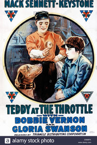 Teddy at the Throttle