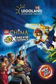 Lego Legends of Chima 4D Movie Experience