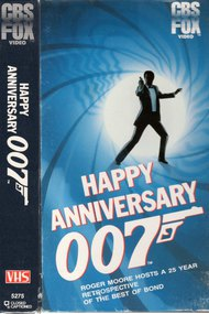 Happy Anniversary 007: 25 Years of James Bond