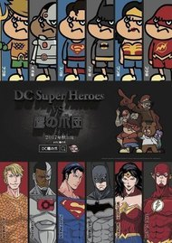 DC Super Heroes vs Taka no Tsume Dan