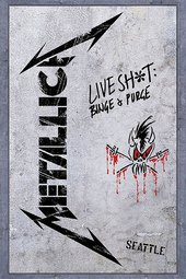 Metallica - Live Shit: Binge & Purge (Seattle 1989)