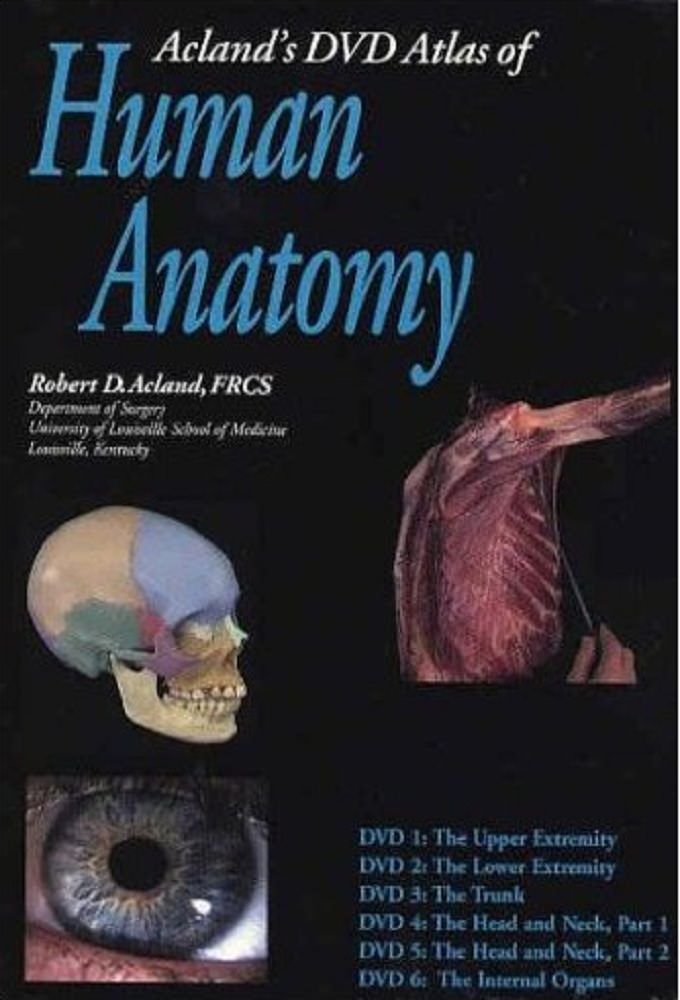 About Aclands Video Atlas Of Human Anatomy 544942