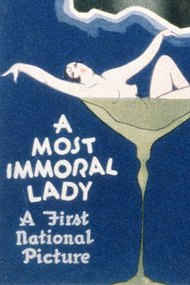 A Most Immoral Lady