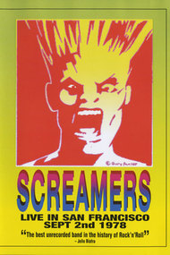 Screamers ‎– Live In San Francisco: Sept 2nd 1978