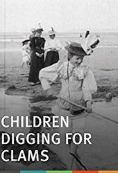 Children Digging for Clams