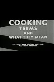 Cooking: Terms and What They Mean