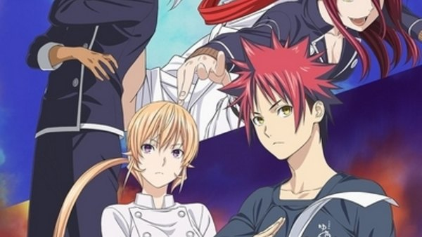 Shokugeki no Souma: San no Sara - Tootsuki Ressha Hen - Ep. 12 - The Basis for Strength