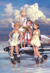 Gekijouban Last Exile: Gin'yoku no Fam - Over the Wishes