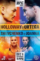 UFC 231: Holloway vs. Ortega