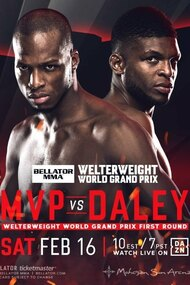 Bellator 216: MVP vs Daley