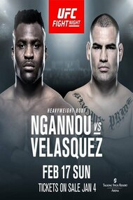 UFC on ESPN 1: Ngannou vs. Velasquez
