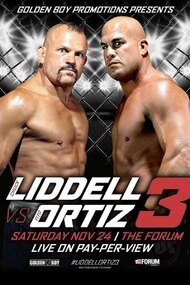 Golden Boy MMA Liddell vs Ortiz 3