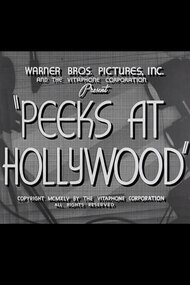 Peeks at Hollywood